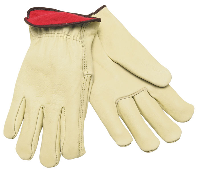 3250 - Drivers glove, Premium Fleece Lined Grain Cow, Straight Thumb