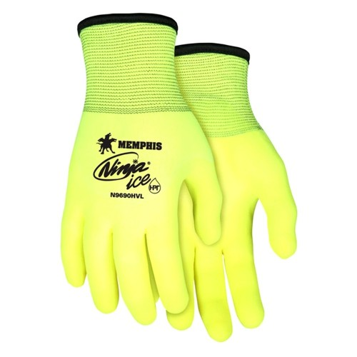 Ninja Ice Fully Coated Hi-Vis ( qty 1 pair)