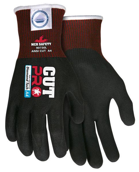 NEW ITEM! Black Dyneema Diamond Gloves (Sold by the PAIR)