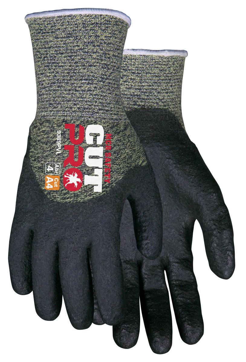 MCR Safety Cut Pro™ 13 Gauge Kevlar®  Steel and Nylon HPT Coated