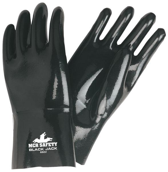 "6922 - Black Jack® Multi-Dipped Neoprene With ActiFresh, 12"" Length, Gauntlet Cuff"
