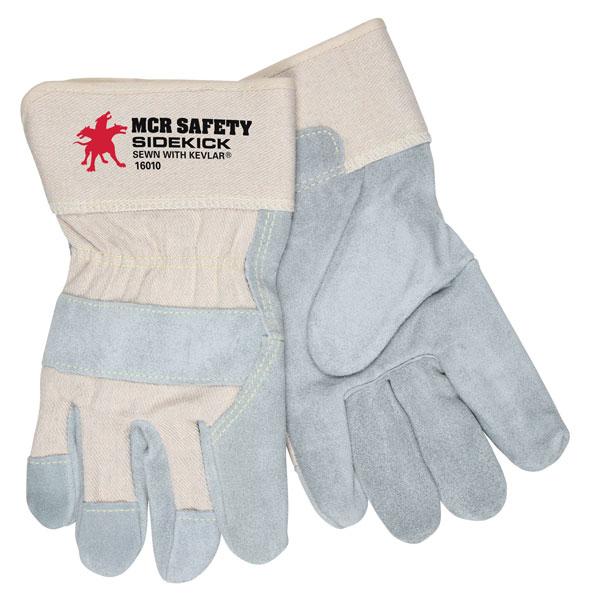 "I80- Sidekick®, Select Side Split Leather, White Back, 2.5"" Safety Cuff"